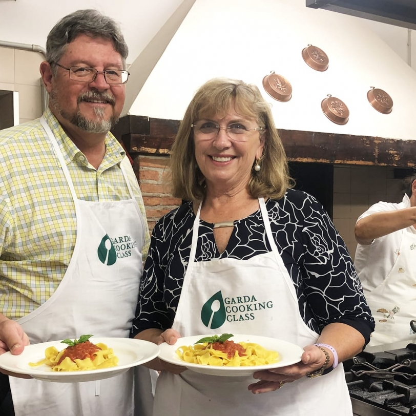 A cooking class in Custoza