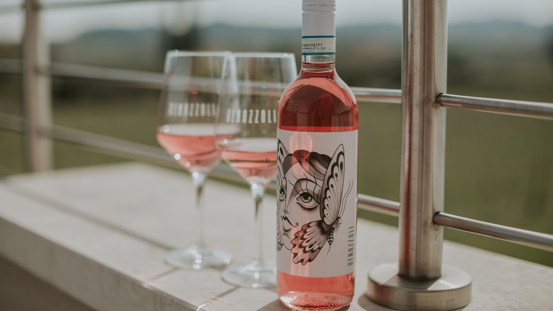 Lake Garda and its rosé