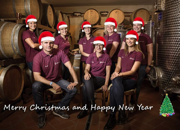 Merry Christmas from Pagus Wine Tours!