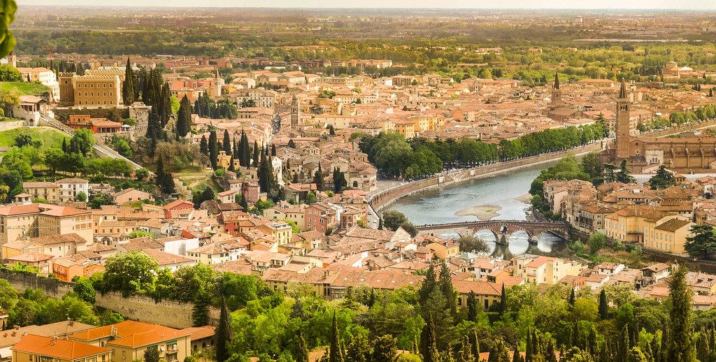 Panoramic view Verona