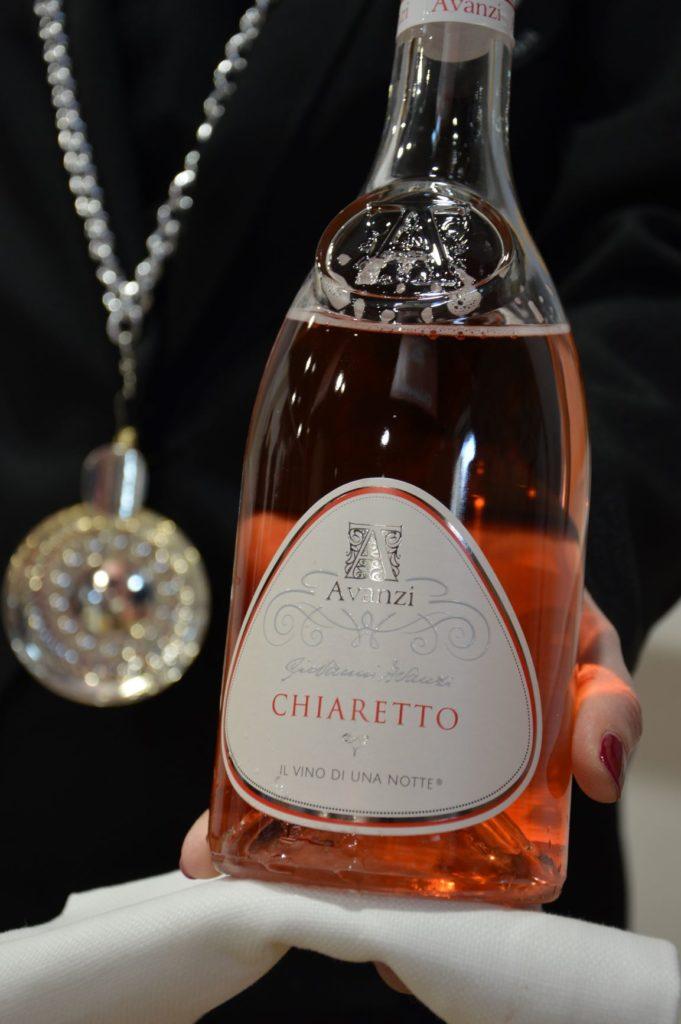 Chiaretto wine label