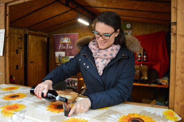 Pouring Recioto della Valpolicella