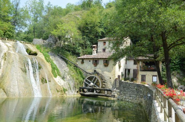 Mill in the Prosecco area