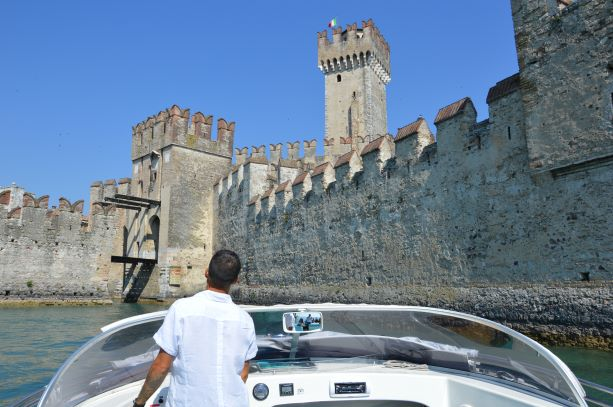 During one of our tour you can enjoy a boat trip around Sirmione