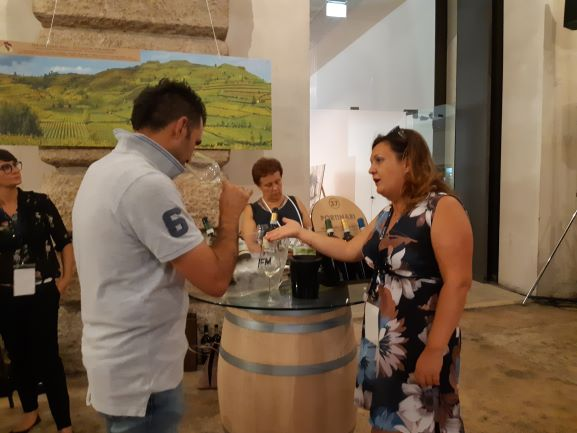 Soave tasting at the wine event Soave Versus