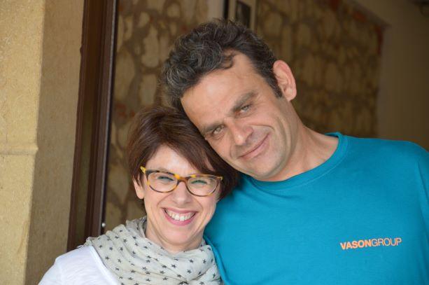 Fabio and Eleonora run together Le Marognole winery