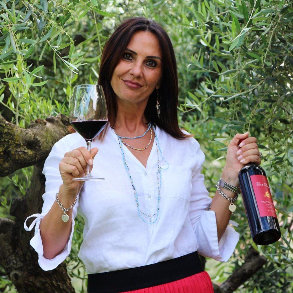 Barbara, the owner of Corte Borghetti