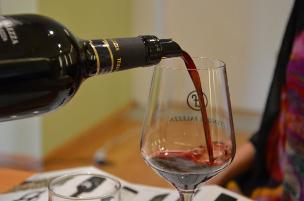 Wine tasting at Tenute Falezza