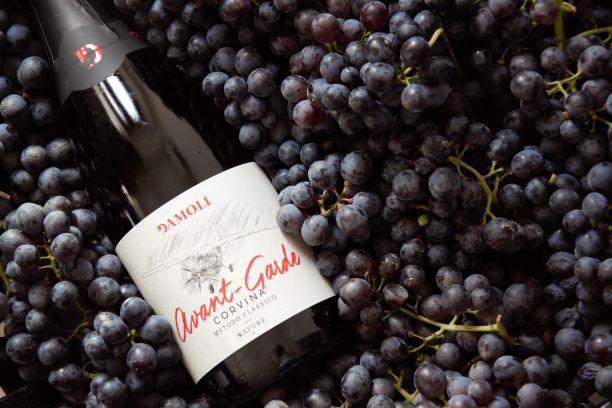 Avant-Garde, the champenoise method sparklig wine 100% Corvina
