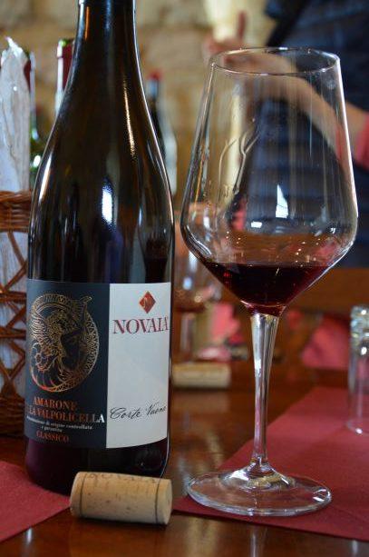 Amarone tasting at Novaia