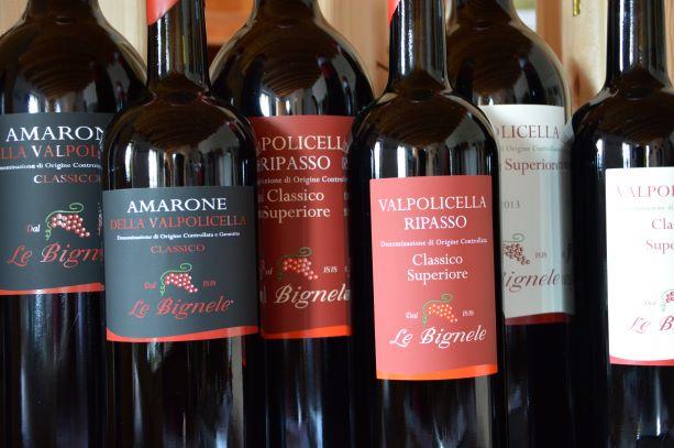 Le Bingele's wine selection