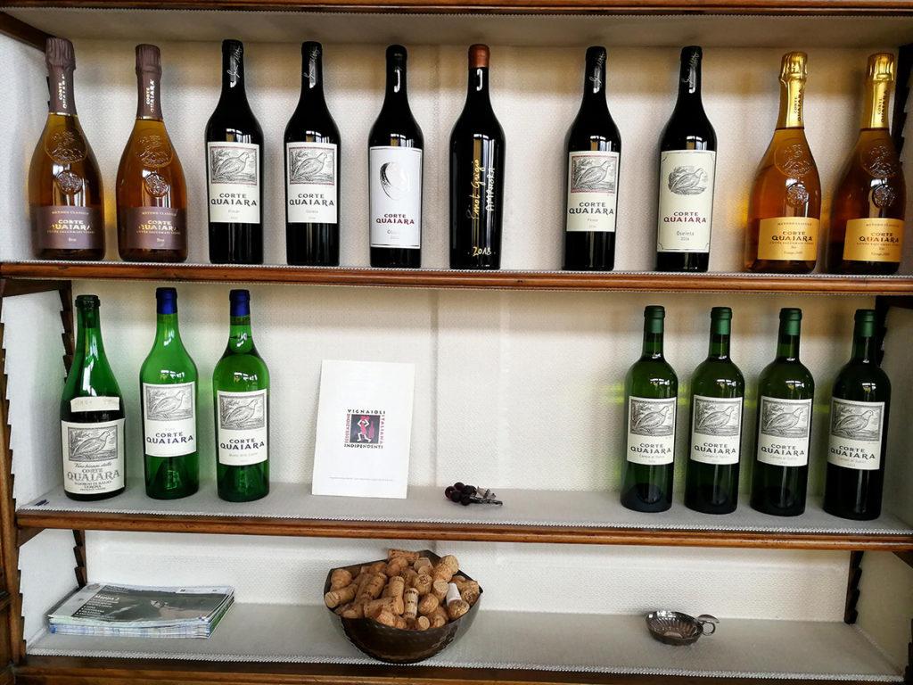 Wines of Corte Quaiara vineyard